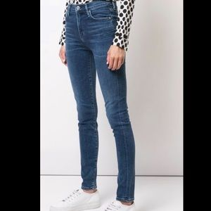Aritzia Citizen Of Humanity high rise skinny jeans